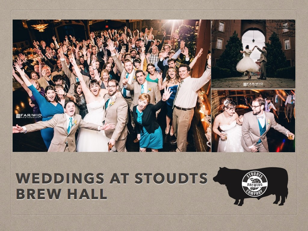 Weddings at Stoudts Brew Hall